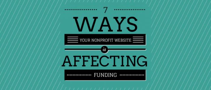 7 ways your website affects funding